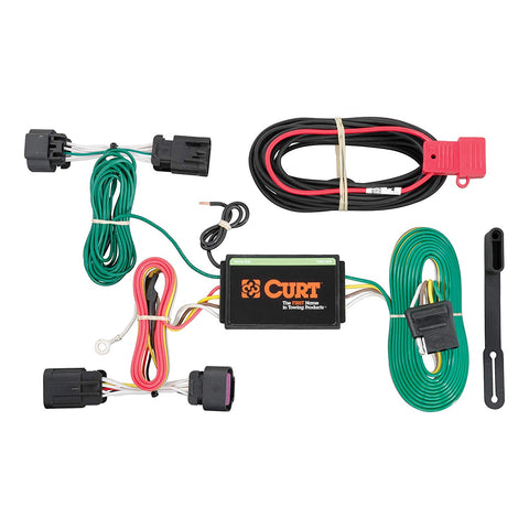 Curt Custom Trailer Wiring Harness RAM ProMaster Van 14-19 - Van Accessories Direct