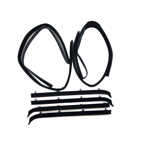 Replacement Belt Channel Weatherstrip Kit Chevrolet ,GMC G-Series Van 75-96 - Van Accessories Direct