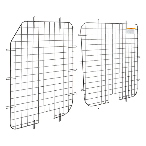 Window Security Screen Rear Cargo Doors Ford Transit Med/High Roof 15-19 - Van Accessories Direct
