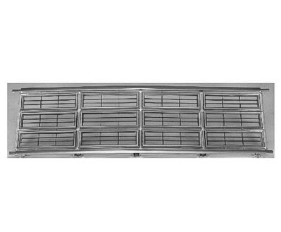 Chrome Factory Replacement Grille Dodge B-Series Van 86-93 - Van Accessories Direct