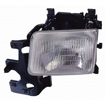 Factory Replacement Headlights Dodge Ram Van 94-97 - Van Accessories Direct