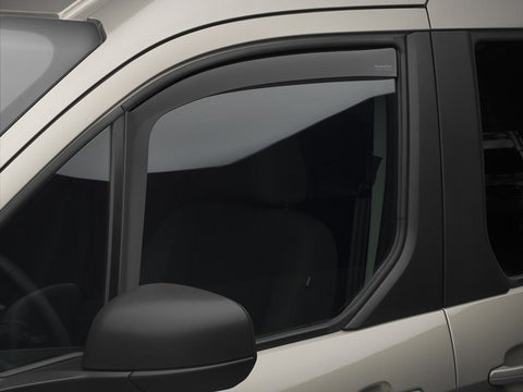 WeatherTech Side Window Visors Ford Transit Connect Van 14-18 - Van Accessories Direct