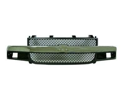 OE Replacement Chrome Grille Shell Chevy Express Van 03-18 - Van Accessories Direct