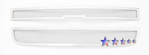 Stainless Wire Mesh Grille Chevy Express Van 2003-2018 - Van Accessories Direct