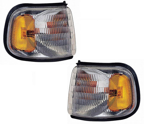 Factory Replacement Corner Lamps Dodge Ram Van 94-97 - Van Accessories Direct