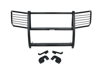 Front Black Full Grille Guard Chevy Express, GMC Savana 03-19 - Van Accessories Direct