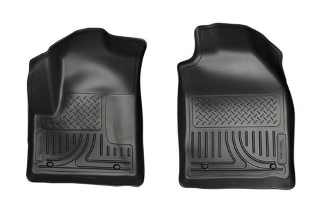 Weatherbeater Front Floor Liners Ford Transit Connect 10-13 - Van Accessories Direct