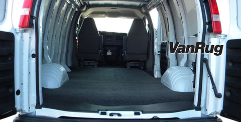 VanRug Cargo Liner Ford Econoline Van 1992-2017 - Van Accessories Direct