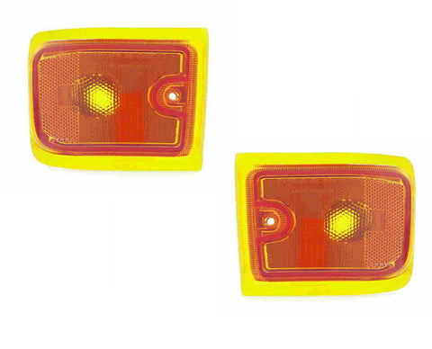 Factory Replacement Lower Marker Lights Chevy Express,GMC Savana 96-02 - Van Accessories Direct