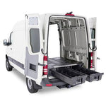"Cargo Drawers Deck System Nissan NV Full Size 146""WB 12-19 - Van Accessories Direct"