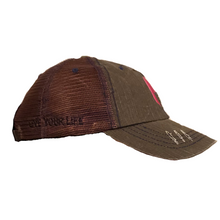 Load image into Gallery viewer, Brown Trucker Cap