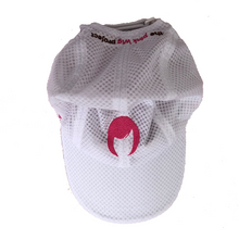 Load image into Gallery viewer, White Athletic Cap