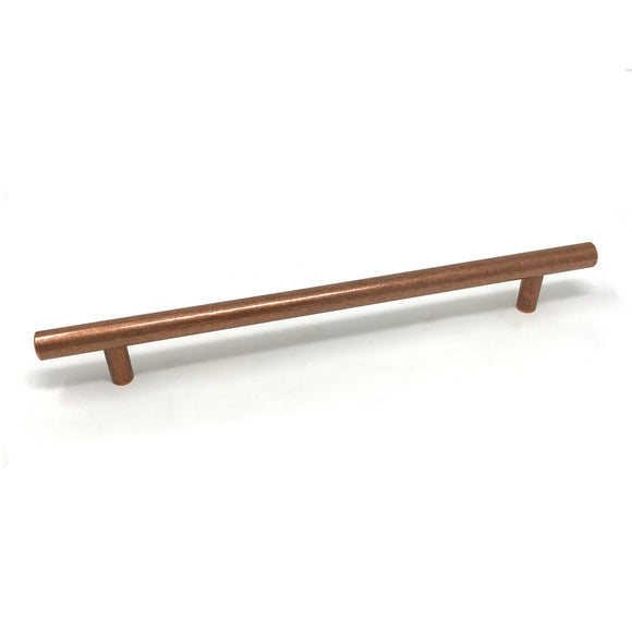 Antique Copper Bar 160mm Handle