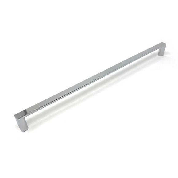 320mm Polished Chrome Square D Handle