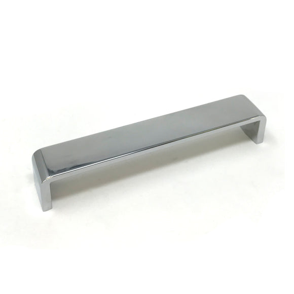 160mm Polished Chrome D Handle