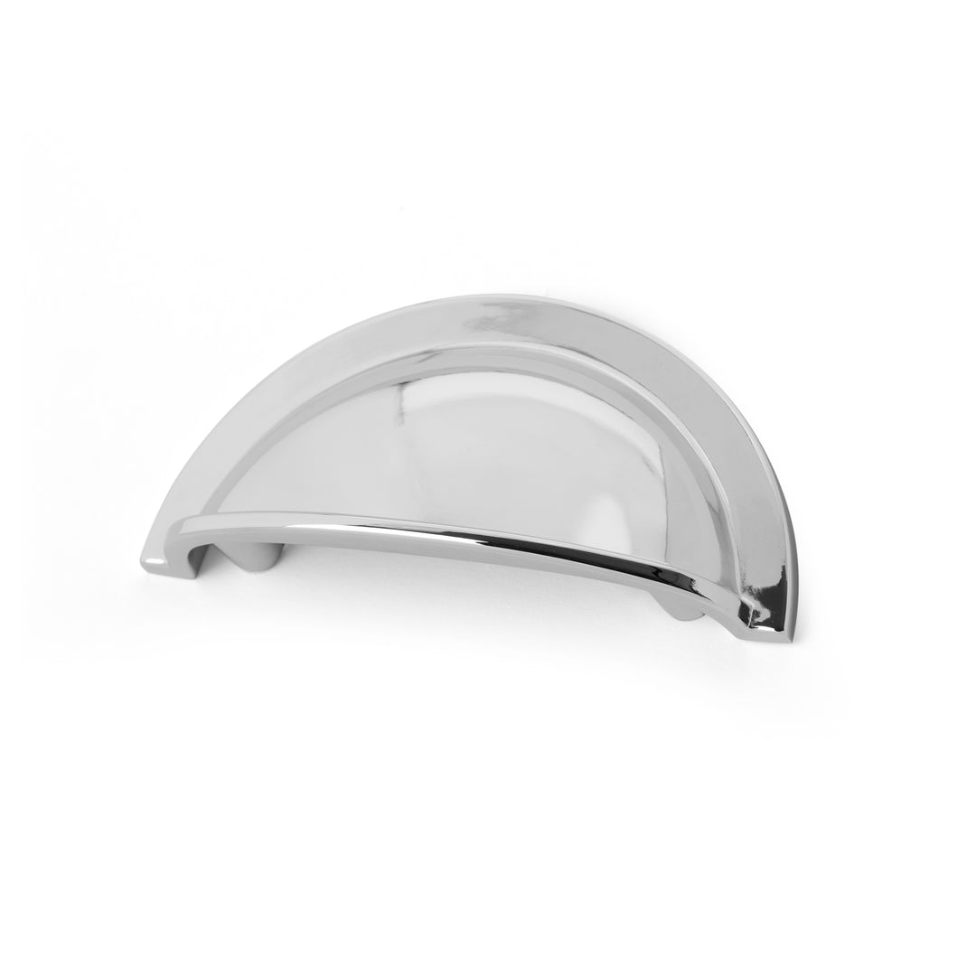 64mm Polished Chrome Cup Handle