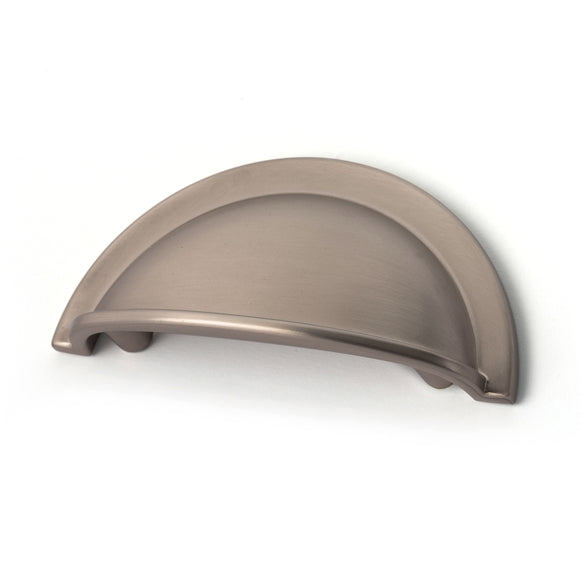 64mm Brushed Nickel Cup Handle