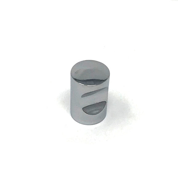 25mm Chrome Cylinder Knob