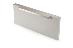 92 x11mm Stainless Steel Effect Pull Handle - Screw Fix