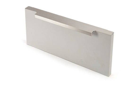 89 x9mm Stainless Steel Effect Pull Handle - Screw Fix
