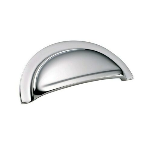 Victorian Chrome 76mm Cup Handle