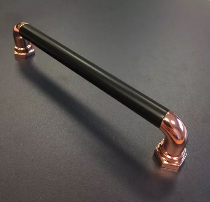 Steampunk Black & Copper 160mm Handle
