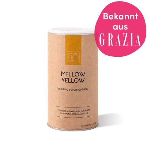 MELLOW YELLOW - BIO SUPERFOOD Mix