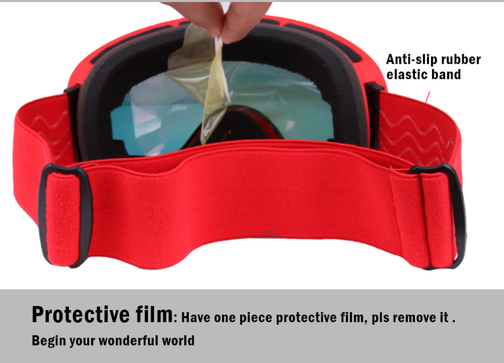Ski Goggles Double Layers Lens Winter Outdoor Cycling Skiing