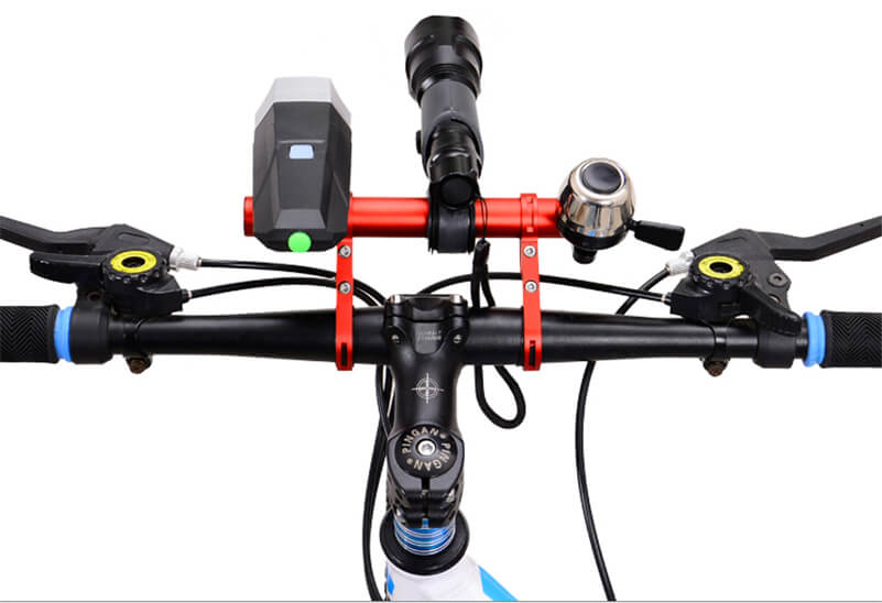 Double Bicycle Handlebar Extension Bracket