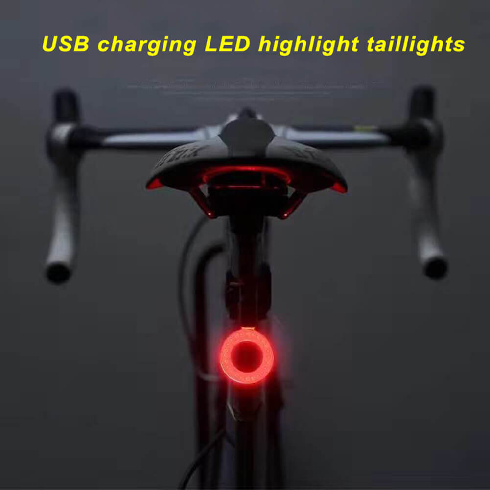 Sport LED Rear Bike Light USB Rechargeable