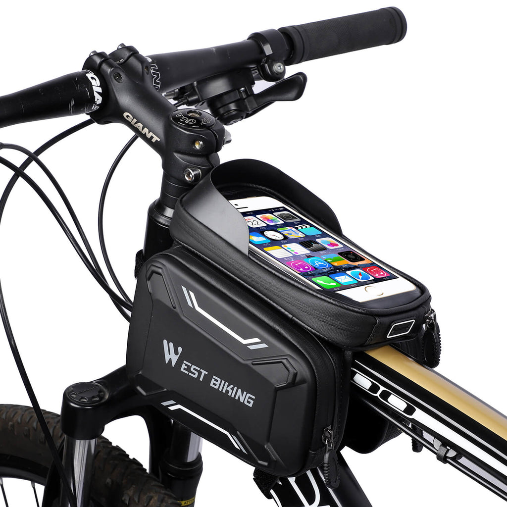 bicycle frame tube pouch