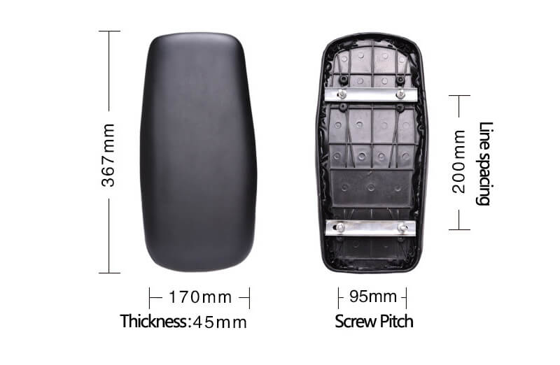 Electric Vehicle Rear Seat Cushion