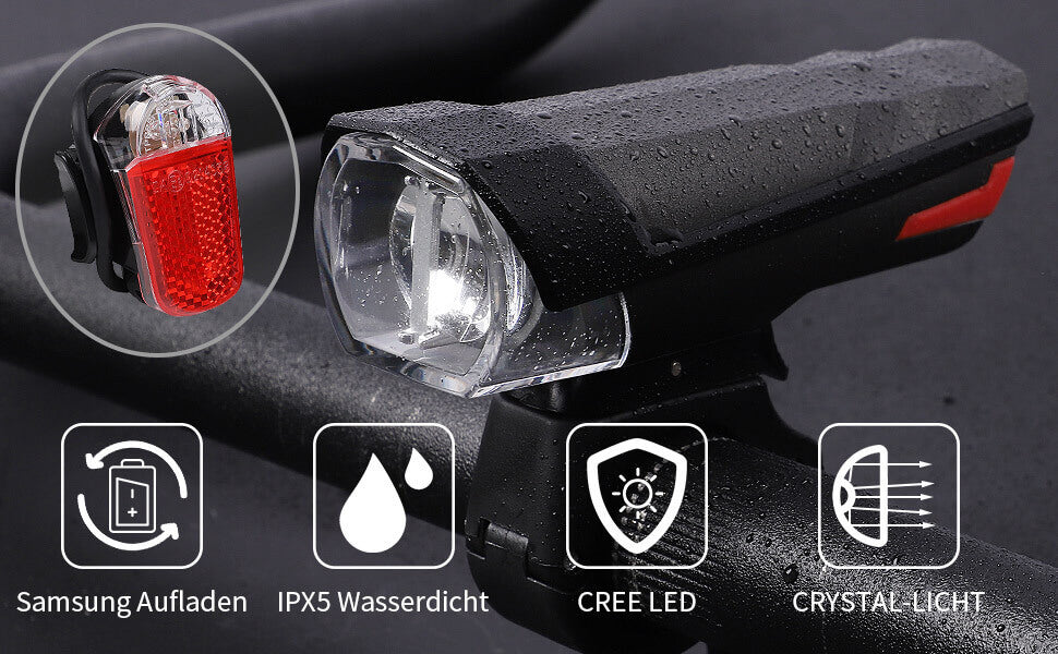 Mountain Bike Light Bicycle Headlights