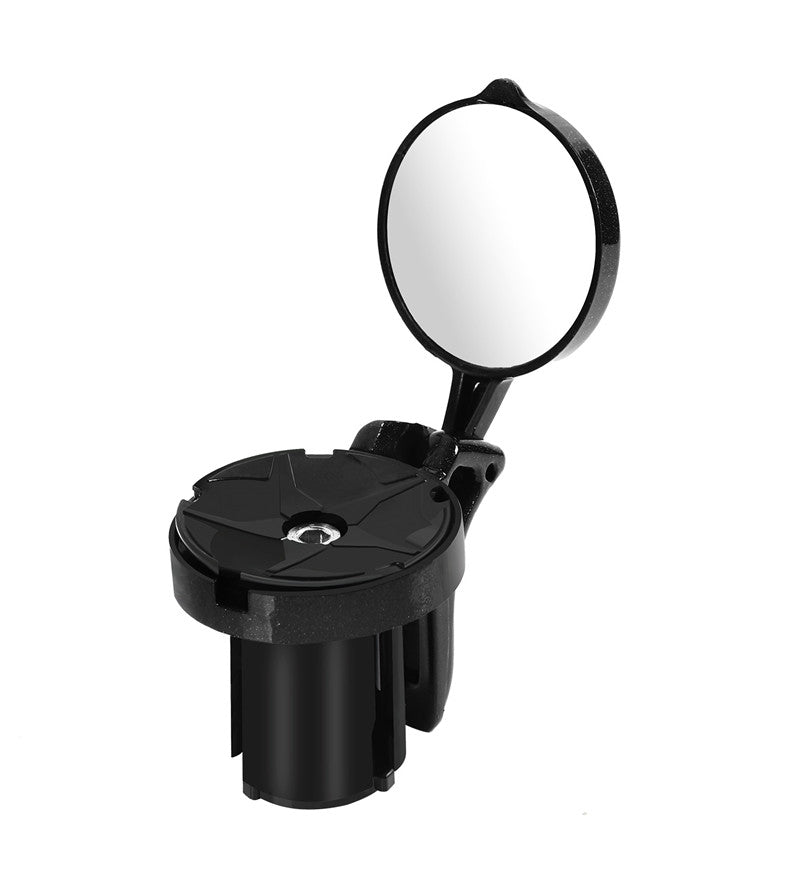 Bicycle Rearview, Handlebar Mirror 360 Degree Rotatable