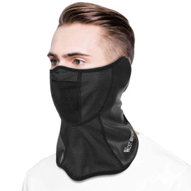 Artificial Leather Half Face Outdoor Mask - WEST BIKING