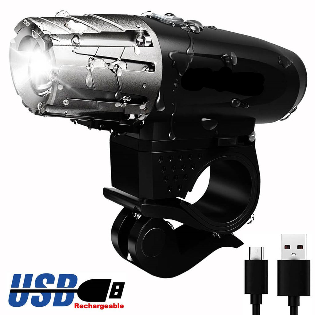 USB Rechargeable Bike Headlight - WEST BIKING