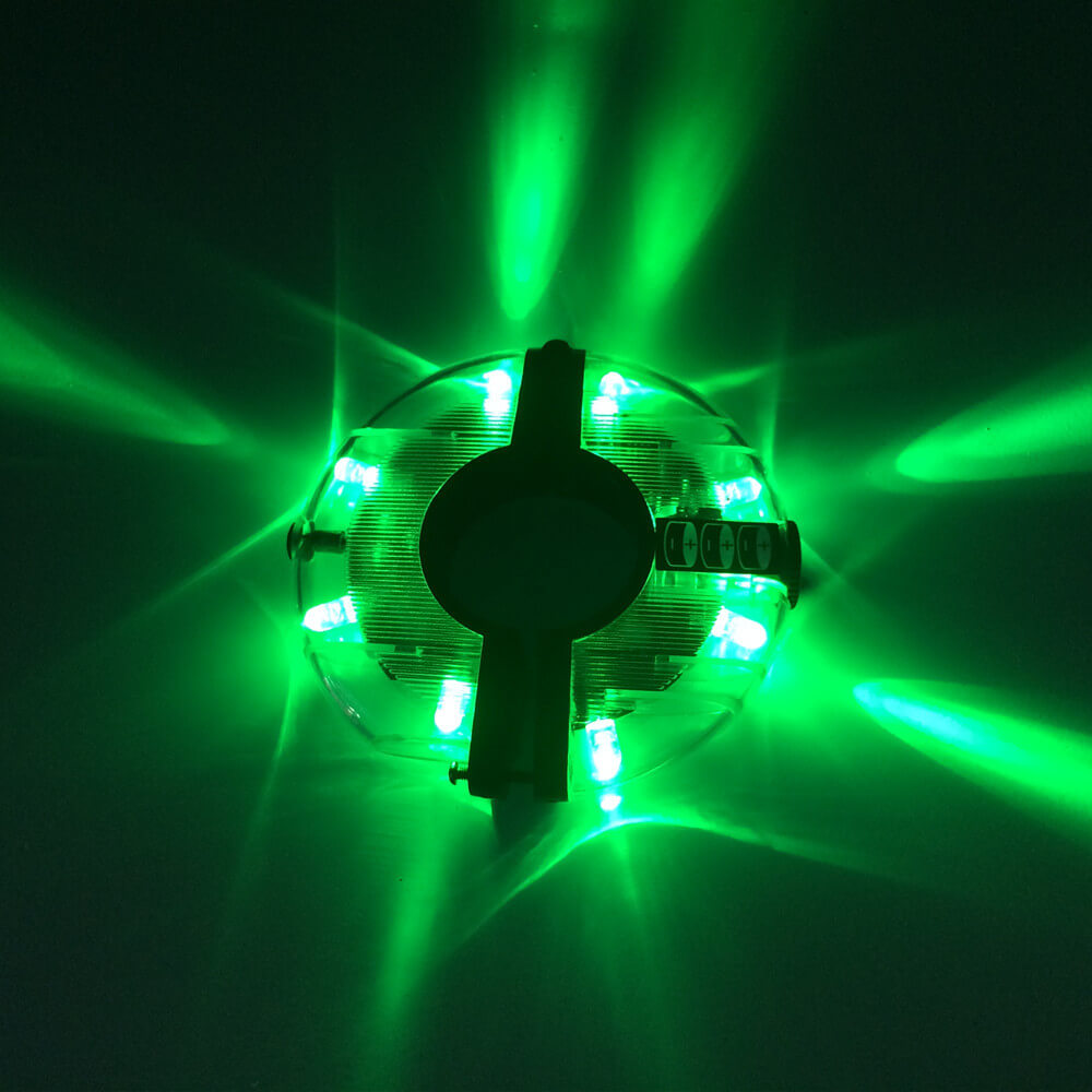 Waterproof Bicycle Hub Wheel Light - WEST BIKING