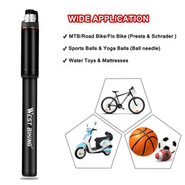 Bike Pump 150 PSI - WEST BIKING