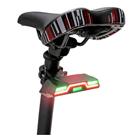 Bicycle light USB Charge Taillight Safety Warning LED Lamp