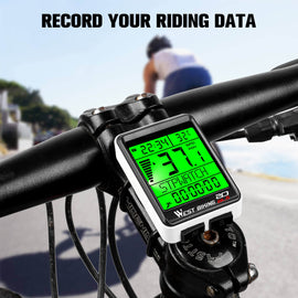 Bicycle Computer Wireless MTB Road Bike Odometer Multifunction Cycling Stopwatch Speedometer Rainproof