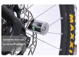 Mini Anti-theft Stainless Steel Brake Disc Bicycle Lock - WEST BIKING