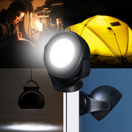 Outdoor Camping Light Lantern 360° Rotatable - WEST BIKING