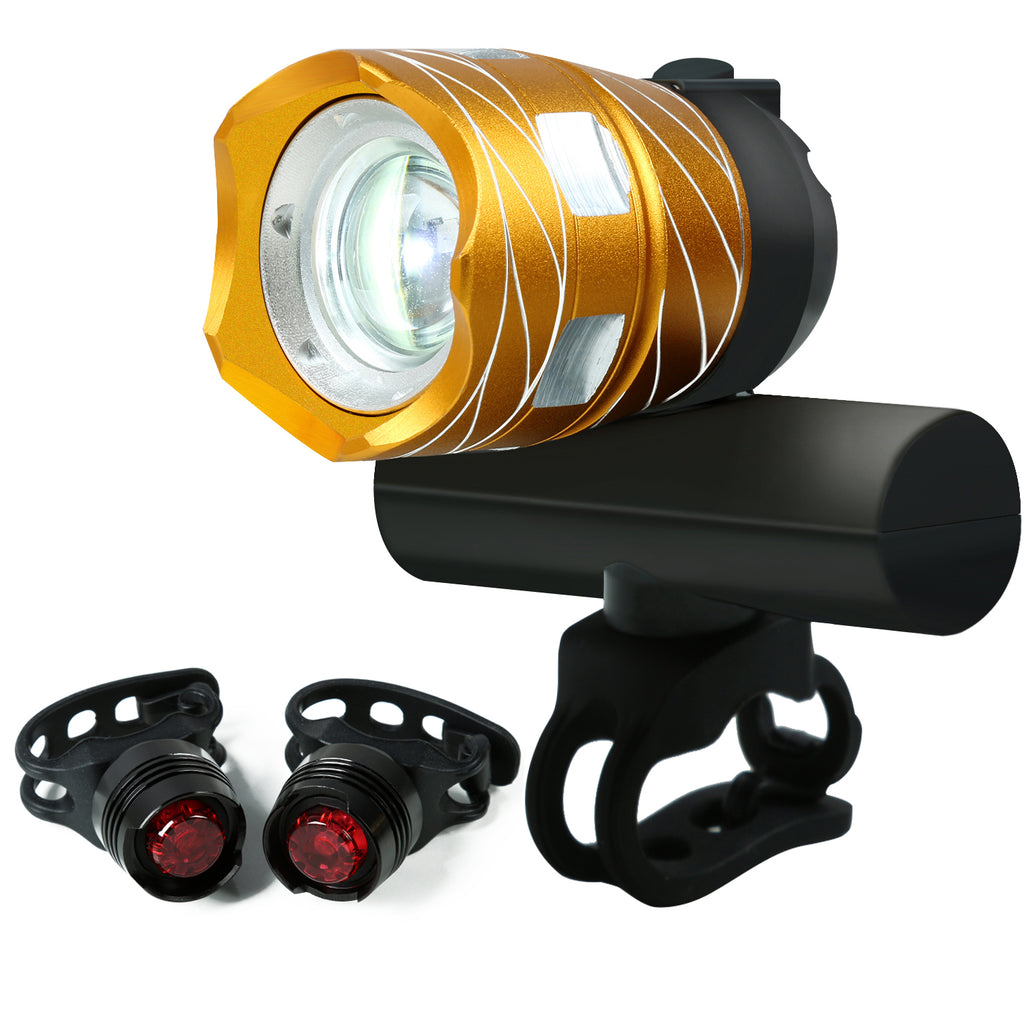 USB Rechargeable Bike Light (Adjustable Focus)- WEST BIKING