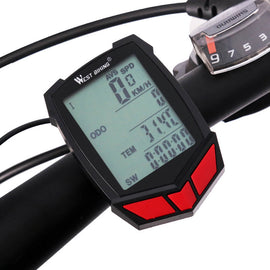Wireless Waterproof Bicycle Speedometer with Backlight - WEST BIKING