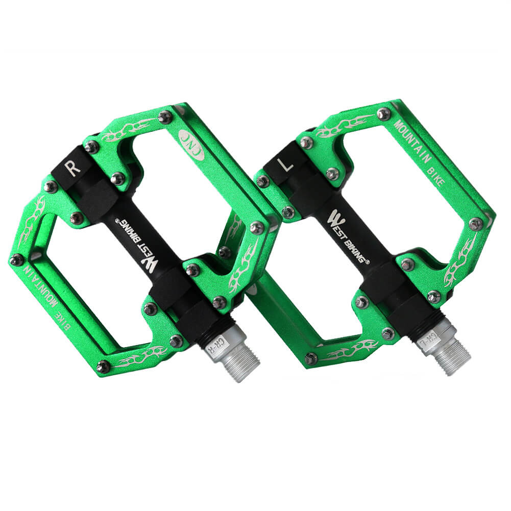MTB Bike Pedals Lightweight Aluminium Alloy - WEST BIKING