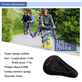 Gel Bike Seat Cover - WEST BIKING