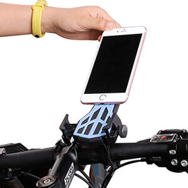 Bike Mobile Phone Holder 360 Degree Rotatable - WEST BIKING