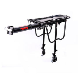 150Lb Capacity Adjustable Bike Cargo Rack - WEST BIKING