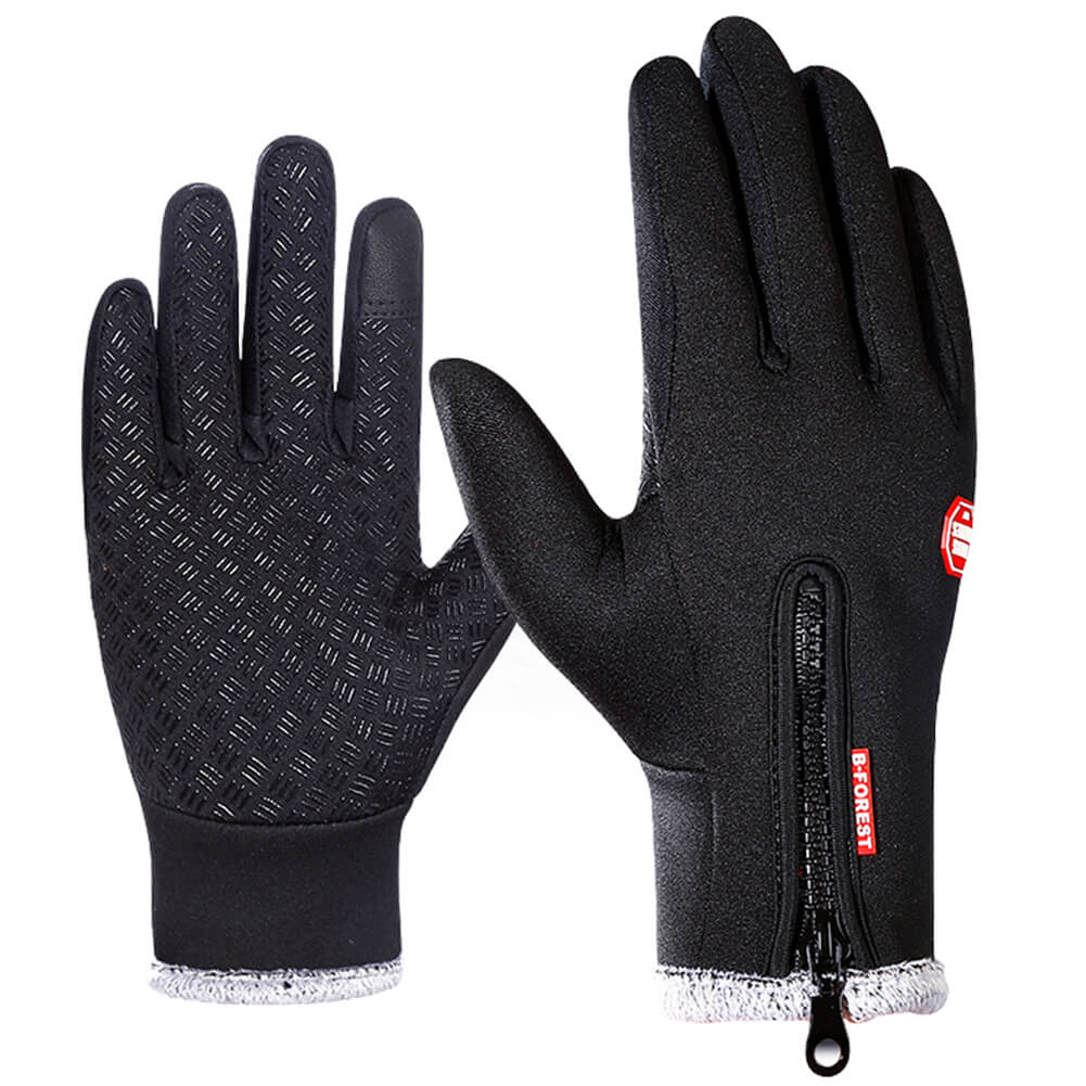 Thick Touch Screen Bicycle Gloves - WEST BIKING