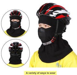 Winter Balaclava Ski Mask Thermal Fleece - WEST BIKING